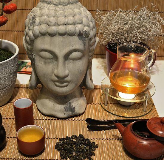 DMS Si Ji Chun Four Seasons Oolong Tee mit Buddha