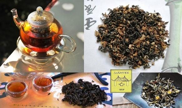 Aromatische Thailändische Teemischungen im Siam Tee Shop