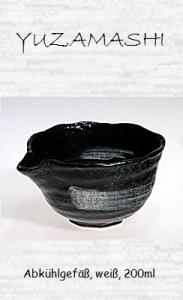 Japanisches Teewasser-Abkühlgefäß, schwarz, 310ml