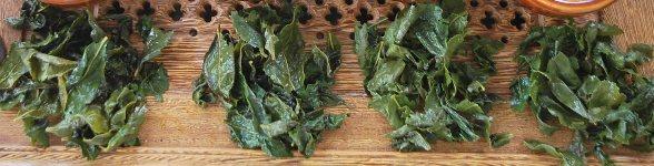 Tie Kuan Yin, Anxi, Fujian: 4 Qualitäten, nasse Blätter
