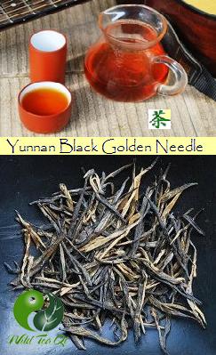 Yunnan Black & Golden Needle Schwarzer Artisan-Tee aus biodiversem Anbau, Yunnan, China