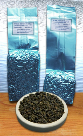 Doi Mae Salong Dong Ding Oolong Blue Pearls im Siam Tee Shop