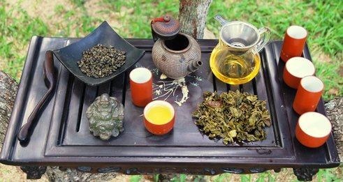 Exploration des Taiwan Oolong Cultivar Nr. 12 in meiner Gong Fu Cha