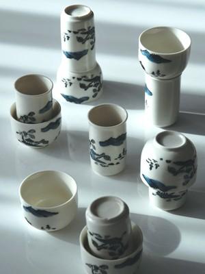 'Sketches 2', Riechbecher / Trinkschalen 12-tlg. Set, Keramik
