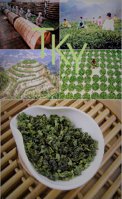 Tie Guan Yin Yunxiang Oolong Tee, Anxi, Fujian, China: Produktbild