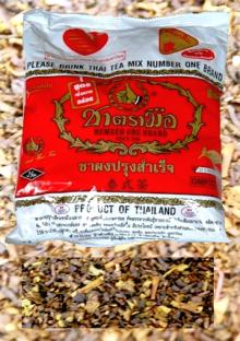 Thai-Eistee-Mischung Schwarzer Tee: Produktfoto