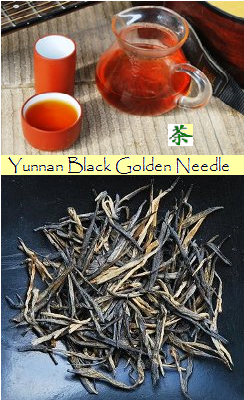 Diang Hong Black & Golden Needle Yunnan Schwarzer Tee