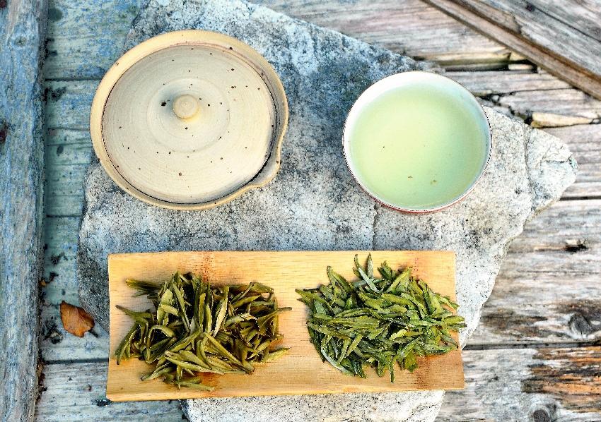 Long Jing Green Tea from Pre-Qingming picking beginning of April 2020