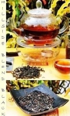"""""""Hillside Black"""" Aromatische Teemischung"""