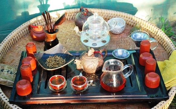 Fengqing Schwarzer Tee aus Yunnan, China: Gong Fu Cha Zubereitung