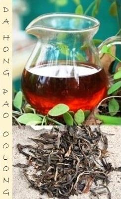 "Da Hong Pao (""Big Red Robe"" = ""Große Rote Robe"") Oolong Tee"