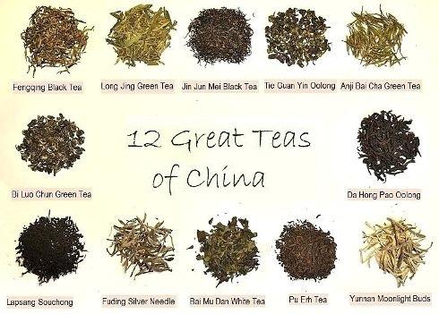 12 berühmte chinesische Tees aus meinem privaten Teeregal
