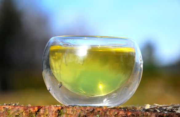 Smaragdgrüne Tasse