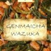 Organic Genmaicha tea: Sencha with roasted rice grains