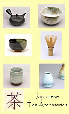Japanisches Teezubehör im Siam Tee Shop