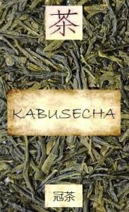 Unbeschatteter japanischer Kabusecha-Tee