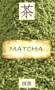 Japanisches Matcha-Pulver