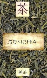 Unbeschattete Sencha-Tees aus Japan