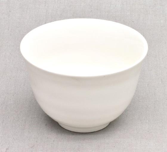 """Japanische """"Chawan"""" Teeschale, weiß, Porzellan, 200ml"""