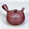 Japanische Teekanne, aubergine, 290ml, Ton, handgemacht