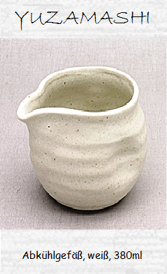 Abkühlgefäß (Yuzamashi), weiß, 380ml