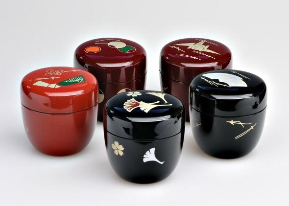 Matcha-Dsoe 'Natsume' für japanische Teezeremonie