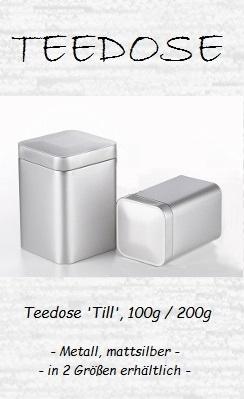 Teedose 'Till', 100g / 200g