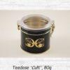 Teedose 'Cult', 80g - Metall / Kunststoff, rund