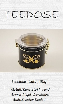 Teedose 'Cult', 80g