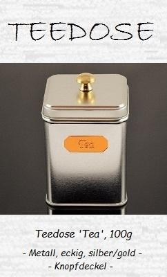 Klassische Teedose 'Tea', 100g