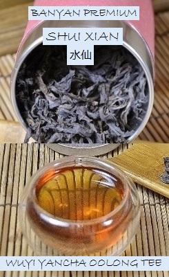 Banyan Premium Shui Xian Yancha Oolong Steintee