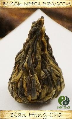 Yunnan Wild Black Needle Pagoda Schwarzer Tee