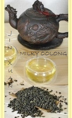 Jin Xuan Milky Oolong Tee
