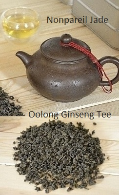 Nonpareil Jade Ginseng Oolong Tee