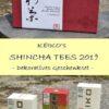 Keiko Shincha-Set 2019 in dekorativer Geschenkbox : Shincha Cassic, Shincha Yakushima, Shincha Yume