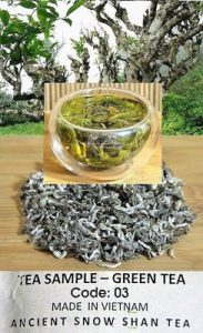 Ancient Artisan Snow Shan Grüner Tee aus Ha Giang Vietnam