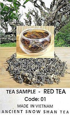 Ancient Snow Shan Schwarzer Tee