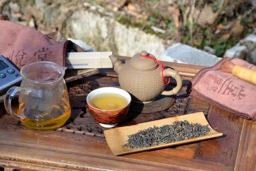 Goomtee Muscatel First Flush : Tee der ersten Frühlingsernte 2017 des Goomtee Teegarten in Darjeeling
