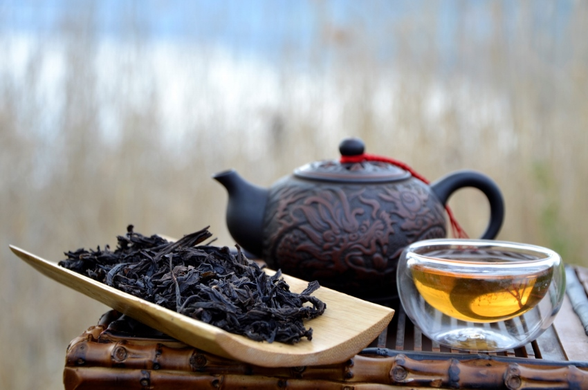 Wuyi Golden Water Da Hong Pao Oolong Tee - Bodensee, April 2017