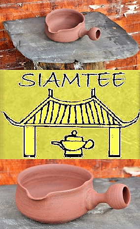 SiamTee Signature Yuzamashi 250ml, roter Ton, unglasiert