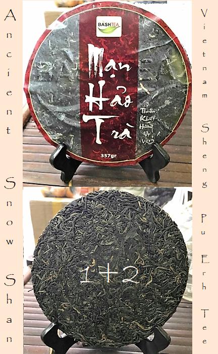 Ancient Snow Shan Sheng Pu Erh Tee 1+2
