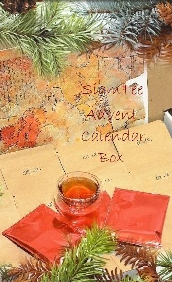 SiamTee Adventskalender-Box : Produktbild