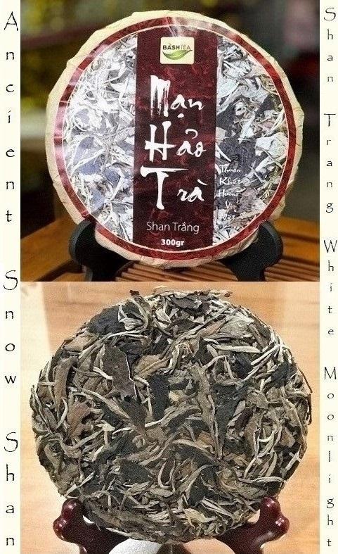 Ancient Snow Shan Trang White Moonlight - cake