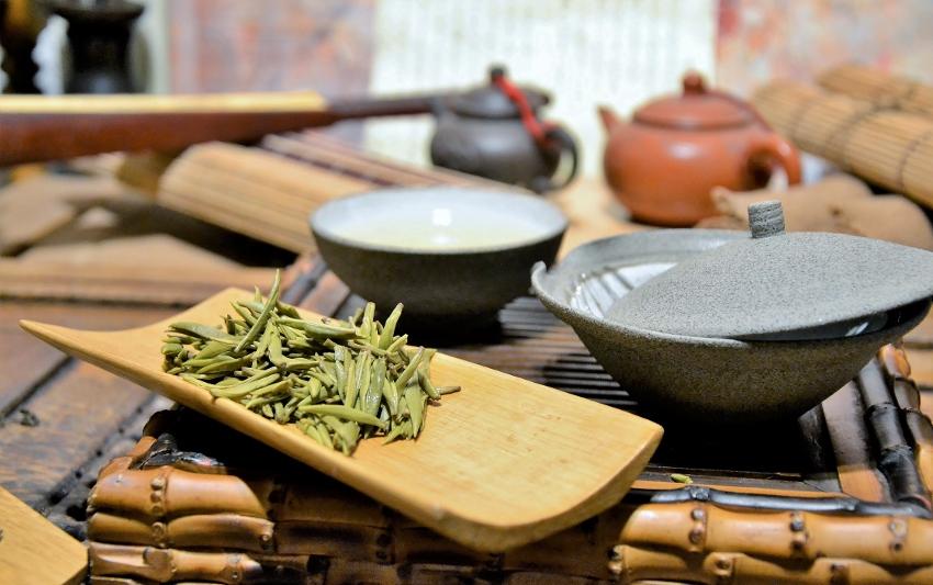 Gelber Tee von der Insel Junshan