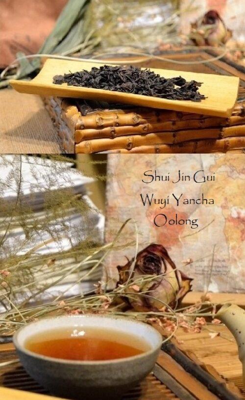 Shui Jin Gui Wuyi Yancha Oolong Tee