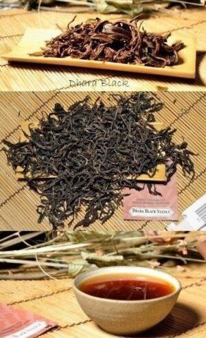 Dhara Black Schwarzer Tee aus wald- und klimafreundlicher Kultivierung in den Wäldern der Amphoe Mae Taeng, Provinz Chiang Mai, Nordthailand