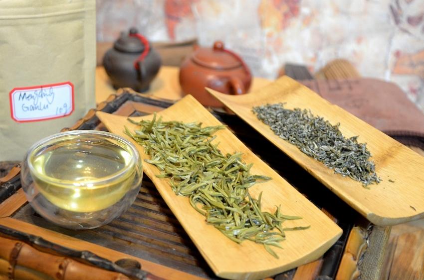 Mengding Ganlu Grüner Tee vom Mengding Shan, Ja An County, Sichuan, China
