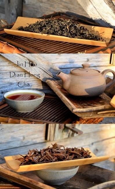 Jin Hao Dian Hong Cha Schwarzer Tee von großblättriger Menghai-Varietät in Süd-Yunnan