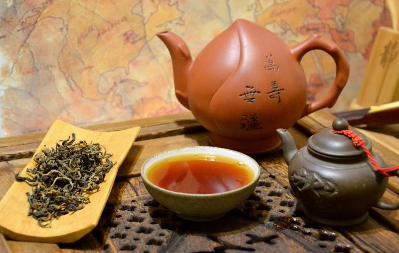 """Xaysathan Red Elephant Schwarzer Tee - """"Roter"""" Tee von semi-wild wachsenden, bis zu 300 Jahre alten Teebäumen in Xaysathan District, Provinz Xayabouri, West-Laos"""