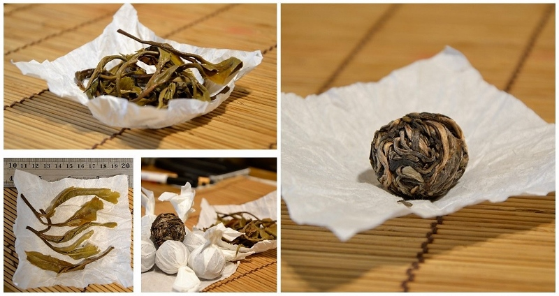 Nyot Ou Sheng Pu Erh Tee - ungereifter (sheng) Pu Erh Tee von natürlich vom Samen im biodiversen Umfeld kultivierten Teebäumen im Distrikt Nyot Ou, Provinz Pongsaly, Nord-Laos